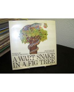 A Wart Snake in a Fig Tree.