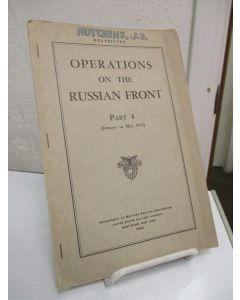 Operations on the Russian Front, January to May 1945 Part 4.
