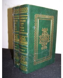 The History of English Law before the Time of Edward I (2 volumes)