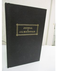Journal of J.G. Macdonald, on an expedition from Port Denison to the Gulf of Carpentaria and Back.