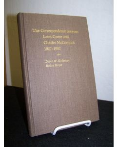 The Correspondence Between Leon Green and Charles McCormick 1927-1962.