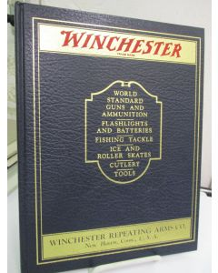 Winchester; World Standard Guns and Ammunition, Flashlights and Batteries, Fishing, Tackle, Ice and Roller Skates, Cutlery, Tools.