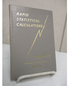 Rapid Statistical Calculations; A Collection of Distribution-free and Easy Methods of Estimation and Testing.