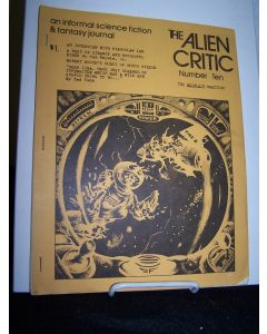 The Alien Critic Number 10.