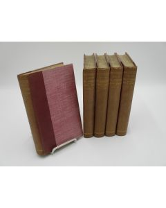 The Life of Samuel Johnson, LL.D. and the Journal of His Tour to the Hebrides. 5 Volumes.