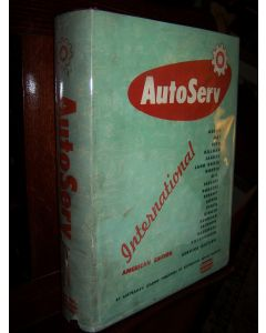 Autoserv International Service Manual 1961, American Edition; with 1963 American Edition Supplement.