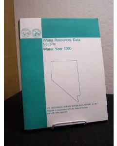 Water Resources Data: Nevada, Water Year 1990.
