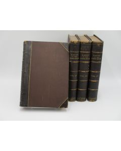 History of the United States of America. 4 Volumes.