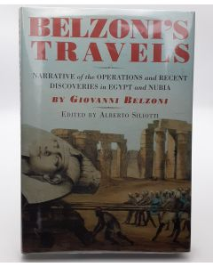 Belzoni's Travels Narrative of the Operations and Recent Discoveries in Egypt and Nubia.