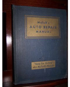 MoTor's Auto Repair Manual, Eleventh Edition. Covers 1935-1948.