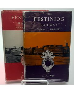 The Festiniog Railway: 1800-1890 and 1890-1959. 2 volumes.