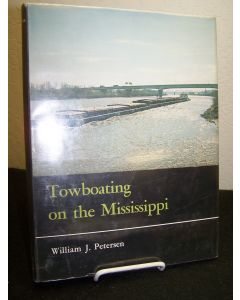 Towboating on the Mississippi.