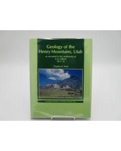 Geology of the Henry Mountains, Utah as Recorded in the Notebooks of G.K. Gilbert 1875-76.