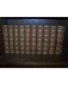 History of Europe from the Commencement of the French Revolution in MDCCLXXIX to the Restoration of the Bourbons in MDCCCXV. 10 volumes.