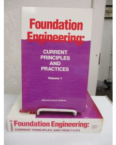 Foundation Engineering: Current Principles and Practices. 2 volumes.