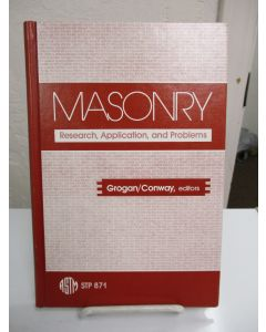 Masonry: Research, Application, and Problems.