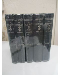 The History of Our Navy from Its Origin to the Present Day 1775-1897. 5 volumes.