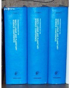 Proceedings of the Ninth Lunar and Planetary Science Conference, Houston, Texas, March 13-17, 1978. 3 volumes.