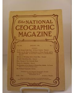 The National Geographic Magazine,  Volume XIX Number 1, January 1908.