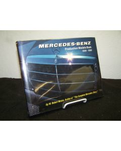 Mercedes-Benz Production Models Book 1946-1986.