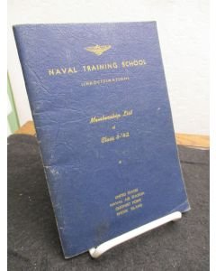 Naval Training School (Indoctrination) Membership List of Class 3 - '42.