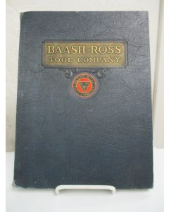 Baash-Ross Tool Company General Catalog.