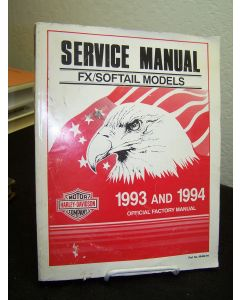 Service Manual FX/Softial Models1993 and 1994: Official Factory Manual.