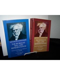 The World as Will and Representation. 2 volumes.