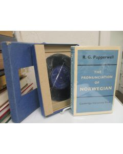 The Pronunciation of Norwegian. (Boxed set with record).