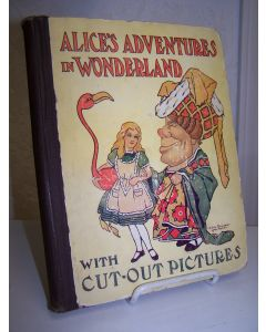 Alice's Adventures in Wonderland with Cut-out Pictures.