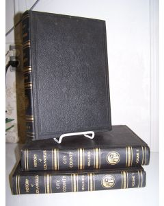 History and Reminiscences, Los Angeles City and County, California. 3 volumes, complete.