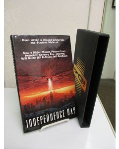 Independence Day: Now a Major Motion Picture from Twentieth Century Fox, starring Will Smith, Bill Pullman, Jeff Goldblum.