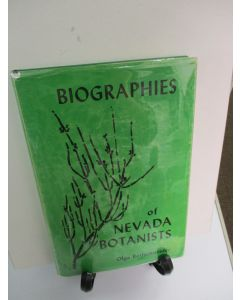 Biographies of Nevada Botanists 1844-1963.