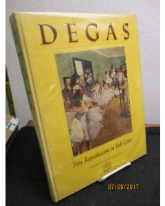 Edgar Hilaire Germain Degas: Fifty Reproductions in Full Color.