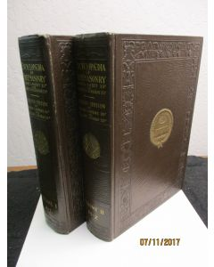 An Encyclopedia of Freemasonry and Its Kindred Sciences, Comprising the Whole Range of Arts, Sciences and Literature As Connected With the Institution. 2 volumes.