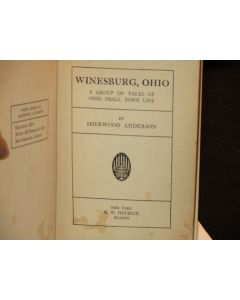 Winesburg, Ohio: A Group of Tales of Ohio Small Town Life.