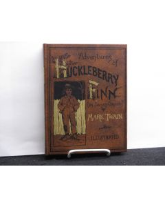 Adventures of Huckleberry Finn (Tom Sawyer's Comrade). Facsimile edition.