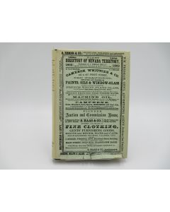 First Directory of Nevada Territory.