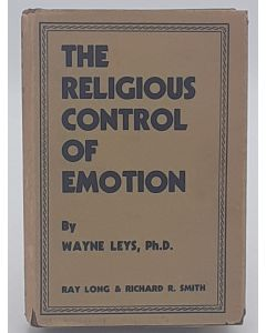The Religious Control of Emotion