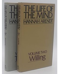 The Life of the Mind: Volume one: Thinking & Volume two: Willing (2 volumes).