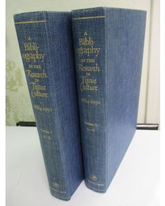 A Bibliography of the Research in Tissue Culture :1884-1950, 2 vols.